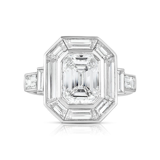 The Emerald Cut Diamond Deco Dream | Marisa Perry by Douglas Elliott