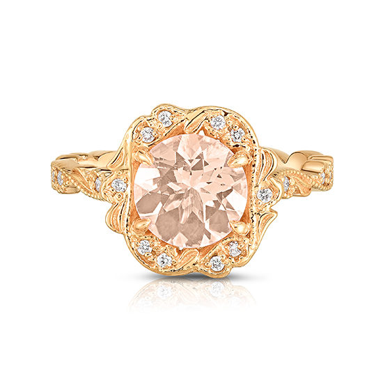 Chantilly Lace Morganite Ring | Marisa Perry by Douglas Elliott