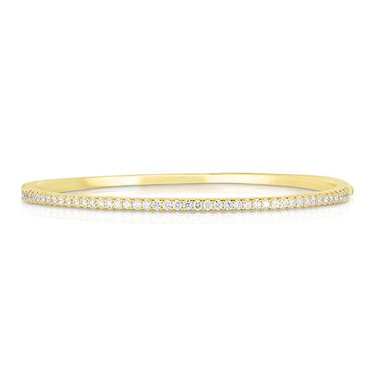Diamond Bangle 18k Yellow Gold