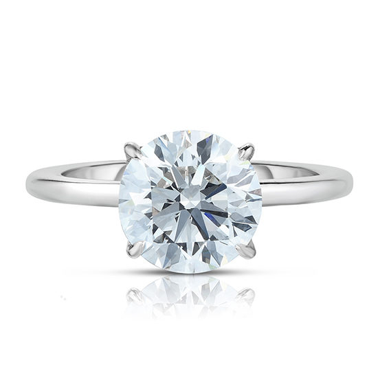 1.56 Carat Round Brilliant Cut DE Solitaire Platinum | Marisa Perry by Douglas Elliott