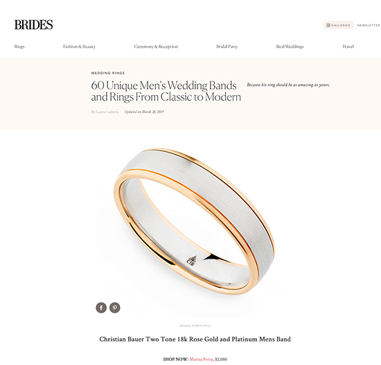 60 Unique Men's Wedding Bands and Rings From Classic to Modern