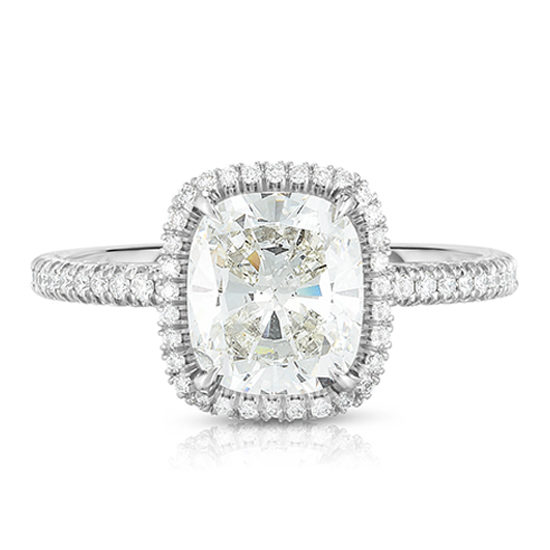 The 2.03 Carat Cushion Cut Diamond InLove Setting | Marisa Perry by Douglas Elliott