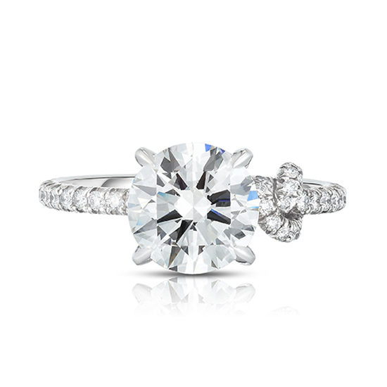 Tie The Knot Ring   Diamond Solitaire Engagement Ring   Marisa Perry by Douglas Elliott