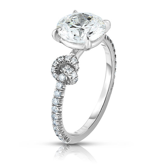 Tie The Knot Ring | Diamond Solitaire Engagement Ring | Marisa Perry by Douglas Elliott