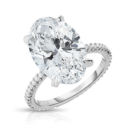 The Oval Cut Diamond Robin Setting | Marisa Perry by Douglas Elliott
