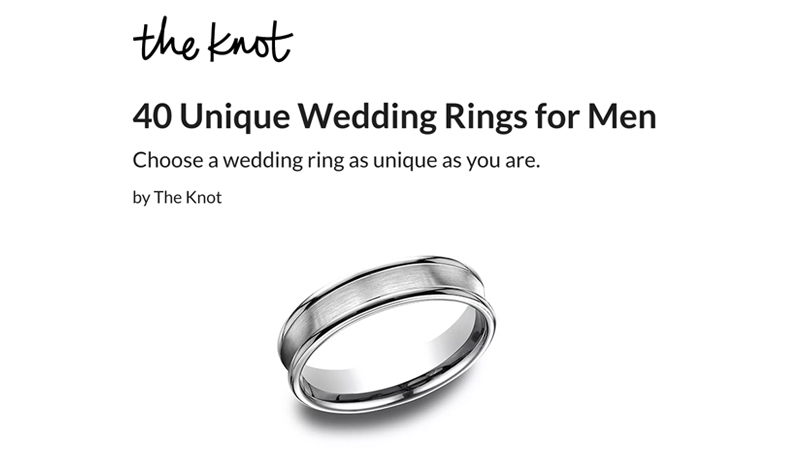 40 Unique Wedding Rings for Men
