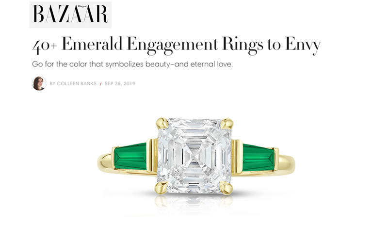 40+ Emerald Engagement Rings to Envy