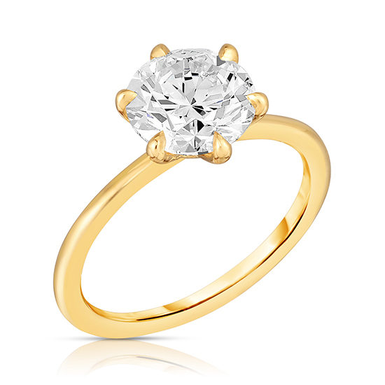 2.01 Carat Round Brilliant Six Prong DE Solitaire | Marisa Perry by Douglas Elliott