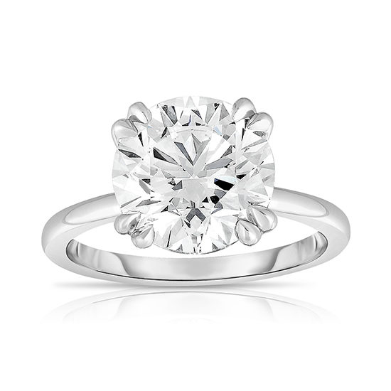 3.31 Carat Round Brilliant Cut DE 2000 | Marisa Perry by Douglas Elliott