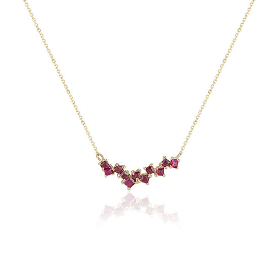 A Story In Ruby Necklace 11:11   TER