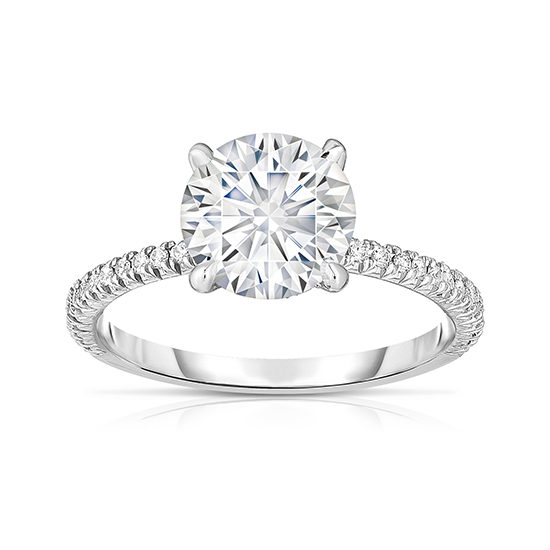 2.01 Carat Round Brilliant DE Diamond Solitaire | Marisa Perry by Douglas Elliott