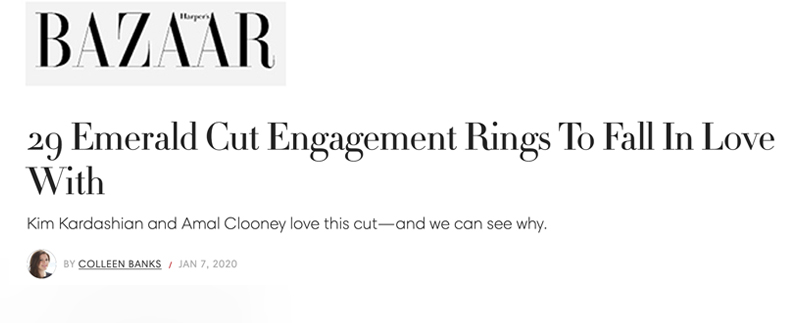 29 Emerald Cut Engagement Rings To Fall In Love With