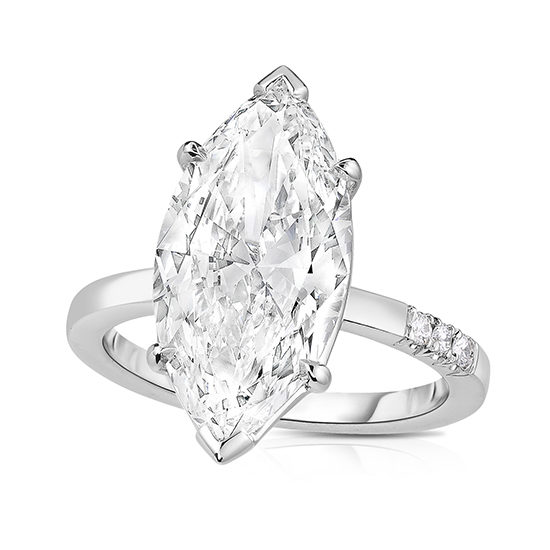 Marquise Love Solitaire   Marisa Perry by Douglas Elliott