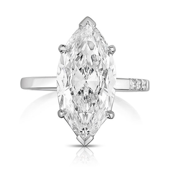Marquise Love Solitaire | Marisa Perry by Douglas Elliott