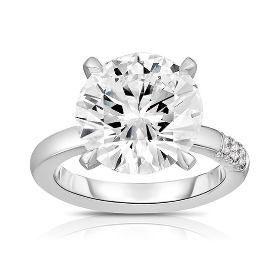 5 Carat Round Brilliant Jayne Ring | Marisa Perry by Douglas Elliott