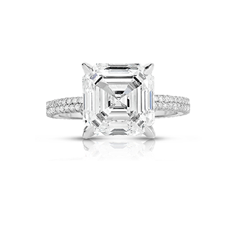Micro Pave Engagement Rings