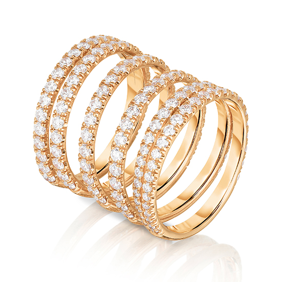 The Spring Ring 18k Yellow Gold