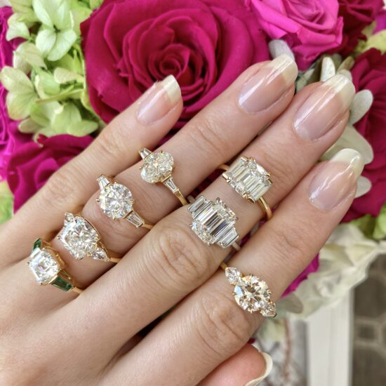 Three-stone Rings – it's a thing!