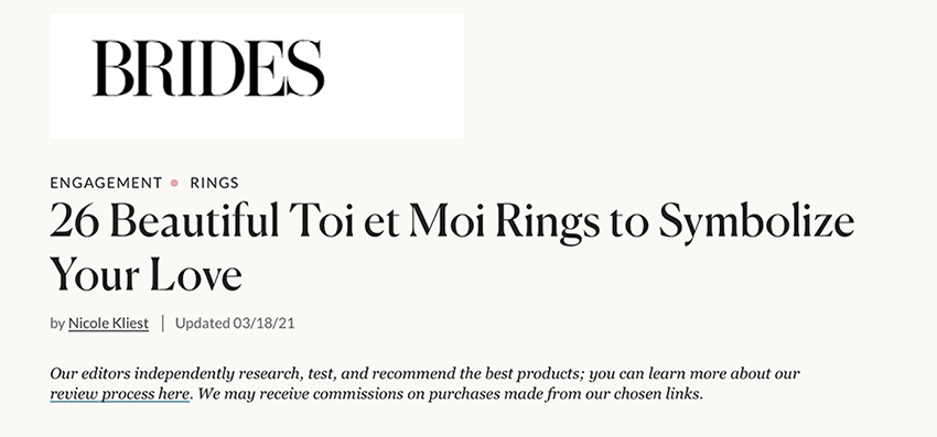 26 Beautiful Toi et Moi Rings to Symbolize Your Love