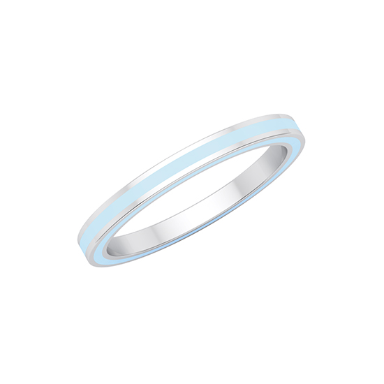 Complete Enamel Band 14k Yellow Gold